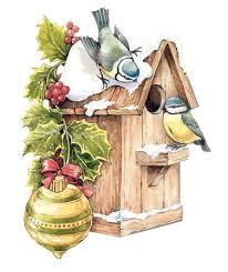 bird house clipart christmas 2476223