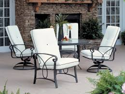 Cast Iron Patio Dining Sets - furniture woodard patio furniture and outdoor wrought iron chairs