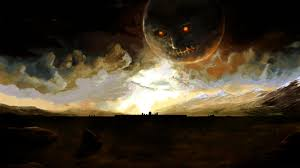nintendo video games clouds landscapes dark halloween moon