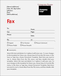 Fax Cover Sheet Template Pdf Generic Fax Cover Sheet Free Cover Fax Sheet For Microsoft Office