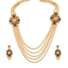 indian wedding necklace images Fasherati traditional south indian wedding necklace set for women jpg