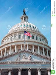 Washington Dc Flag Us Flag And Capitol Hill Washington Dc Stock Image Image 13936413