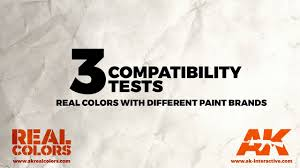 3 compatibility test real colors with different paint brands