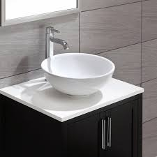 bathroom sink porcelain vessel sink top mount bathroom sink