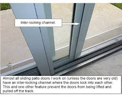Secure Sliding Patio Door The Simplest And Most Effective Sliding Patio Door Lock Jeff