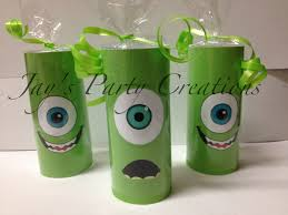 monsters inc mike wazowski candy rolls makes an adorable