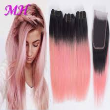 pink hair extensions human hair pink weave bundles pink hair dye ombre hair extension