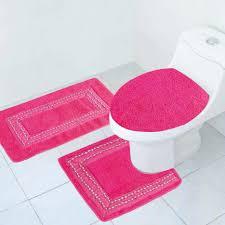 cute pink bathroom rugs never goes wrong adam reid design