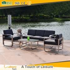 Royal Garden Outdoor Furniture by All Weather Garden Gray Rattan Wicker Outdoor Furniture Sofa Set
