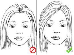 Frisuren Lange Haare Mittelscheitel by Für Jede Gesichtsform Die Perfekte Frisur