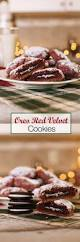 oreo stuffed red velvet cookies the edgy veg