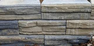 perfect design concrete wall blocks best estate landscape wall