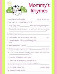 nursery rhyme baby shower simple decoration ba shower valuable nursery rhymes in