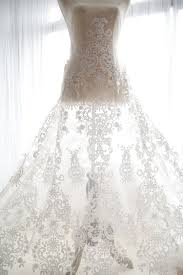 wedding dress material retro white floral embroidered tulle lace fabric bridal