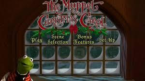 the muppet carol menu 2002 region 1