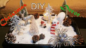 life hack diy chrismas decorations coffee table tray home