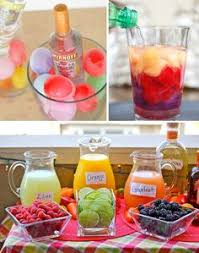 Backyard Parties Fun Outdoor Drink Display Ideas Drink Display Outdoor Parties
