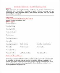 Best Marketing Resume by The Best Way To Provide The Best Marketing Resume