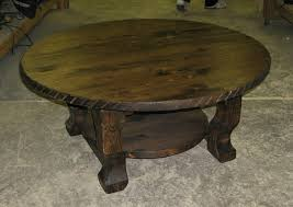 Rustic Round Coffee Table Rustic Wood Round Coffee Table Western Coffee Table Round Western