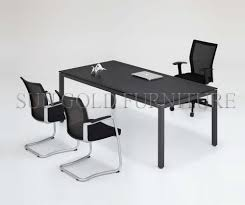 modern furniture design small banquet tabel wooden office black