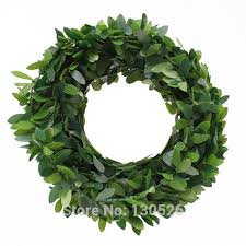 leaf ribbon christmas tree decoration accessories home festive decor rattan