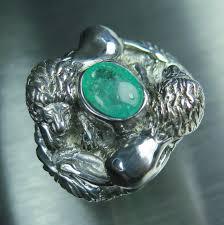 grandidierite engagement ring mens rings