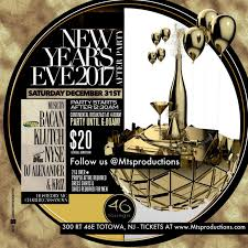 new years events in nj upcoming events new years at 46 lounge nj xlr8r