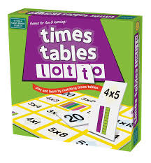 Learn Times Tables Times Tables Lotto Amazon Co Uk Toys U0026 Games