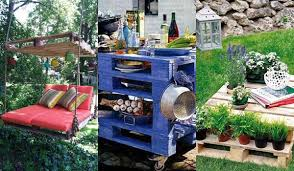 Pallet Garden Decor Diy Pallet Outdoor Furniture Archives Amazing Diy Interior