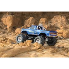 monster truck bigfoot traxxas bigfoot no 1 2wd 1 10 scale rc truck 36034 1 blue rc