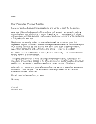 covering letter for receptionist role choice image cover letter