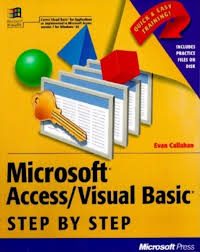 amazon com microsoft access visual basic step by step