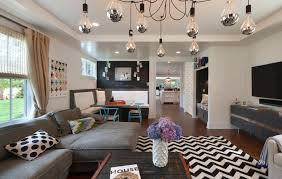 Family Room Twinks Design Decor Photos Pictures Ideas - Black and white family room