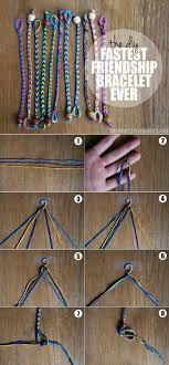 bracelet instructions string images The diy fastest friendship bracelet ever jpg