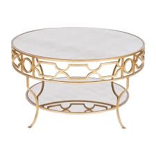 round gold glass coffee table gold round coffee table writehookstudio com