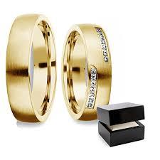 verlobungsringe paar eheringe trauringe gold set swarovski zirkonia freundschaftsringe