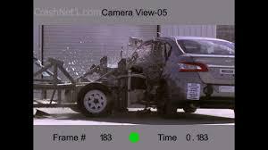 nissan sentra safety rating 2013 nissan sentra side ncap crash test by nhtsa crashnet1