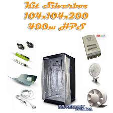chambre de culture 1m2 kit silverbox evolution 1m2 400w hps kit de culture pack de