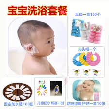 usd 5 45 baby waterproof cover bathing children shampoo bath color classification boxed blue transparent 100 100 100 pack pink premium boxed the baby bath set 5 piece set transparent 50 pack 50 pack blue 50 pack pink