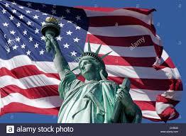 Americsn Flag Statue Liberty In American Flag Stock Photos U0026 Statue Liberty In