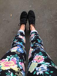 pattern jeans tumblr pants floral jeans shoes floral pants floral leggings