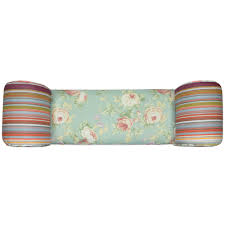Shabby Chic Chaise by Roses Shabby Chic Chaise Pouffe Stool Wood Legs Multi