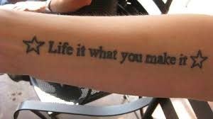 30 best quote tattoos