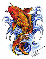 koi fish designs koi fish design by tommyphillips on
