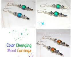 changing earrings mood earrings mood studs color changing earrings