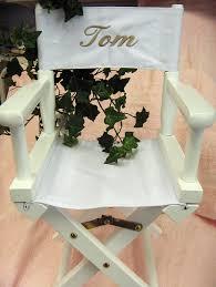 chaise metteur en sc ne b b fauteuil metteur en scène brodé au prénom de l enfant où faire