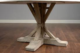 Elm Dining Table 60 Concrete And Elm Dining Table Mecox Gardens