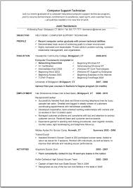 Lab Technician Resume Sample by Resume Computer Technician Resume Sample