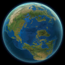 what the world would look like if all the melted