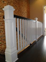 Landing Banister Custom Stairs Construction And Renovation In Baltimore Md